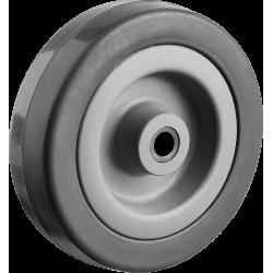 Колесо d=75 мм, г/п 50 кг, резина/полипропилен, ЗУБР / 30956-75