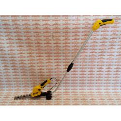 Ножницы-кусторез с телескопической штангой аккумуляторные Denzel G801E с акк. 7,2В Li-Ion 1,5 Ач / 96815