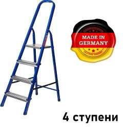 Лестница-стремянка стальная MIRAX, 4 ступени, 80 см / 38800-04 (Германия)