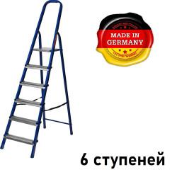 Лестница-стремянка стальная MIRAX, 6 ступеней, 121 см / 38800-06 (Германия)