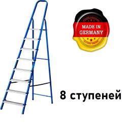 Лестница-стремянка стальная MIRAX, 8 ступеней, 162 см / 38800-08 (Германия)