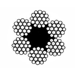 Канат стальной ГОСТ 2688-80 д= 3,8 мм Magnus-Profi / SZ002101