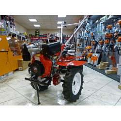 Мотоблок дизельный BRAIT-135DEB,186FAE (10л.с. колеса 5,00*12. Электростартер, 1назад/2 вперед)