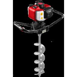 Мотобур (бензобур) ЗУБР, d=60-150 мм, 43 см3, 1 оператор / МБ1-150