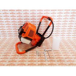 Мотобур Carver AG–52/000 (52 куба + соосный тип редуктора) усилие 50 Н*м / 01.003.00011