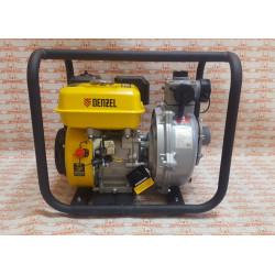 """Мотопомпа бензиновая пожарная высоконапорная Denzel PX-50H, 7 л.с, 2"""", 600 л/мин, глубина 8 м, напор 65 м / 99203"""