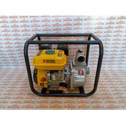 """Мотопомпа бензиновая для чистой воды Denzel PX-50, 7 л.с, 2"""", 600 л/мин, глубина 8 м, напор 30 м / 99201"""