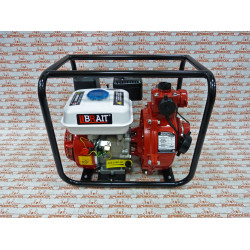 Мотопомпа пожарная BRAIT BR-WP-20H2(7) высоконапорная (напор 70 метров, патрубок 50 мм) / 15.01.010.002