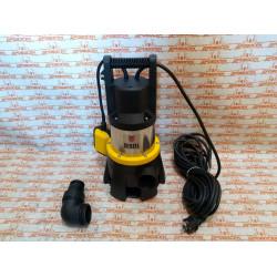 Дренажный насос Denzel DP1400X, 1400 Вт, подъем 11 м, 25000 л/ч / 97228