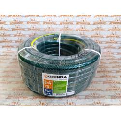 Шланг резиновый 3/4 дюйма, 25 метров GRINDA / 429000-3/4-25