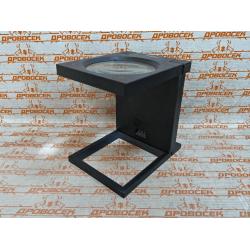 """Лупа ЗУБР складная на подставке, """"Мастер"""", светодиодная подсветка, 2-кратное увеличение, Ø110 мм / 40542-110"""