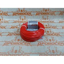 """Леска для триммеров, ЗУБР 70102-2.0-15, """"звезда"""", диаметр 2мм, длина 15м / 70102-2.0-15"""