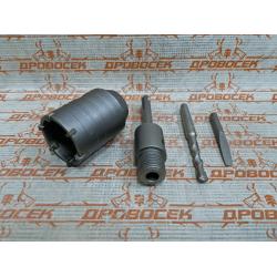 """Коронка по бетону ЗУБР """"ПРОФЕССИОНАЛ"""" с державкой SDS-Plus, 50 мм / 2918-50"""