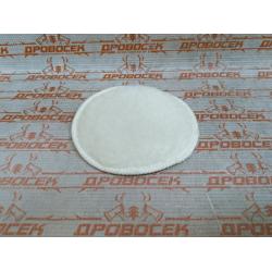 """Полировальная насадка ЗУБР из искусственного меха на липучке, """"Эксперт"""", 125 мм / 3595-125"""