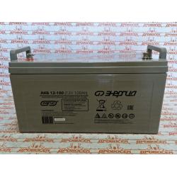 Аккумулятор 100 ампер, Энергия АКБ 12-100 / Е0201-0017