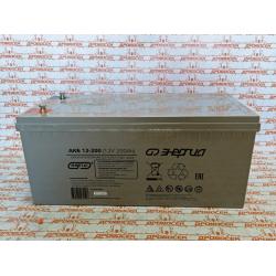 Аккумулятор 200 ампер,  АКБ 12-200 Энергия (200 А/ч) / Е0201-0018