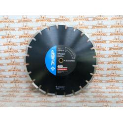АСФАЛЬТ 400 мм, диск алмазный отрезной по асфальту, ЗУБР Профессионал / 36667-400