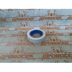 Белая изолента ПВХ ЗУБР Электрик-10, 10м х 15мм / 1233-8