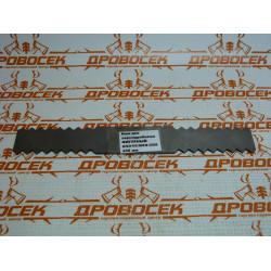 Нож для зернодробилки фигурный (200 мм) ИЗЭ-05, ИЗЭ-05М / НЗФ-200