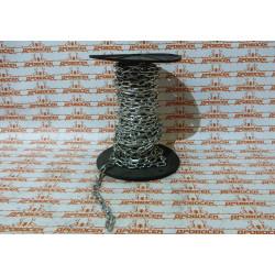 Цепь короткозвенная стальная оцинкованная 4 мм DIN 766, ЗУБР / 4-304050-04