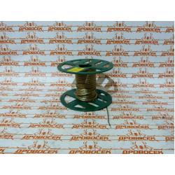 Трос стальной STAYER, MASTER, оболочка ПВХ, Ø2.0 (0.9) мм, максимальная нагрузка 80 кг, 200 м / 30410-20