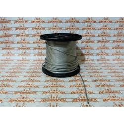 Трос стальной 4 мм, 200 м ЗУБР / 4-304110-04