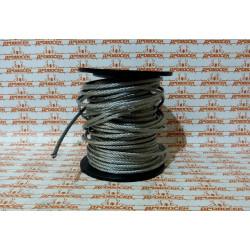 Трос стальной 8 мм, 80 м ЗУБР / 4-304110-08