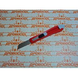Нож ЗУБР с сегментированным лезвием, сталь У8А, 18 мм / 09155