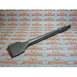 Зубило плоское 30 мм хвостовик Зубр / 29374-75-450