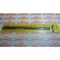 Нож ЭНКОР К-21,А  комплект 2 шт. / 25526