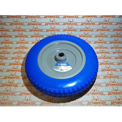 """Колесо для тачки полиуретановое ЗУБР, """"Профессионал"""", Ø350/25.4 мм / 39912-3"""