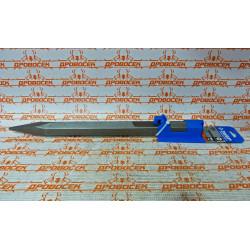 Шестигранник ЗУБР, 28 мм для отбойных молотков HEX 28, пикообразное зубило, 400 мм / 29376-00-400