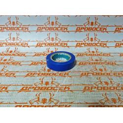 ПВХ изолента СИБИН, 10м х 15мм, синяя / 1235-7