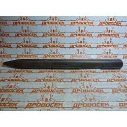 Зубило KRAFTOOL пикообразное для отбойных молотков и бетоноломов, шестигранный хвостовик 28 мм, 400 мм / 29340-00-400