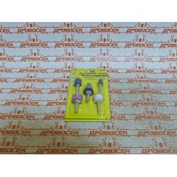 Набор шарошек-насадок STAYER абразивных для дрели, MASTER, 5 шт. / 2990-H5