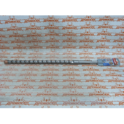 Бур 25х520 мм ЗУБР SDS-Max по бетону, 4 резца, спираль-шнек / 29350-520-25_z01