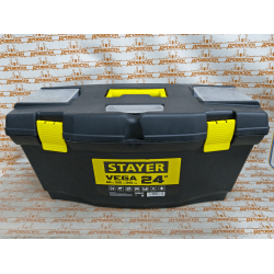 """Ящик для инструмента STAYER """"VEGA-24"""" пластиковый / 38105-21"""