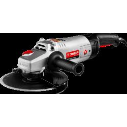 Углошлифовальная машина (болгарка) ЗУБР УШМ-230-2600 ПМ3, плавный пуск, 230 мм, 6000 об/мин, 2600 Вт