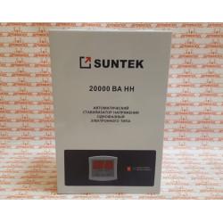 Релейный стабилизатор напряжения 20 квт навесной (работает от 90 вольт, морозостойкий) SUNTEK 20000ВА-НН