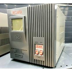 Стабилизатор напряжения однофазный Ресанта АСН 5000/1-Ц