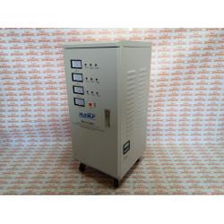 Стабилизатор напряжения электромеханический Rucelf SDV-3-15000 (15 кВт + работают от 120 Вольт)