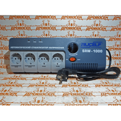 Стабилизатор напряжения цифровой Rucelf SRW-1000 (1 кВт)