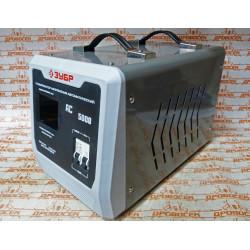 ЗУБР АС 5000 профессиональный стабилизатор напряжения 5000 ВА, 140-260 В, 8% / 59380-5