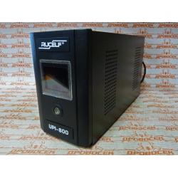 Источник бесперебойного питания RUCELF UPI-800-12 EL (800 Вт + Максимальная емкость подключаемой АКБ 100 Ач.)