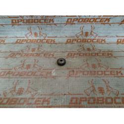 Шестерня для двигателя шуруповерта тип18 d13,9x3, h-6, 18 зуб / 010456(18)