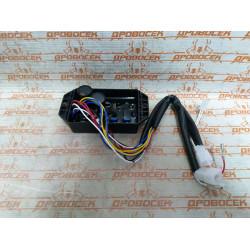 Электроника (блок AVR, регулятор напряжения) для дизельного генератора 380В,  10кВт / 010058G