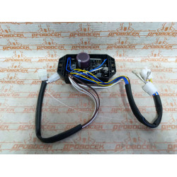 Электроника (блок AVR, регулятор напряжения) для дизельного генератора 220В, 14  проводов, 10кВт / 010058F1