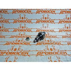 Вал в сборе с подшипниками для торцовочной пилы ЗПТ-190-1200 ПЛ / 000-022-518
