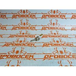 Выключатель в сборе (мет. тумблер) для бензопил Carver RSG 45-18K, 52-20K / 2880-71600 / 01.008.00145