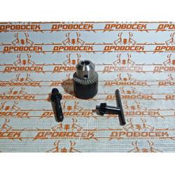 "Набор ЗУБР ""МАСТЕР"": Патрон ключевой 13 мм, ""SDS+"" адаптер, ключ для патрона, посадочная резьба 1/2"", Д 2,0-13мм / 29081-H3"